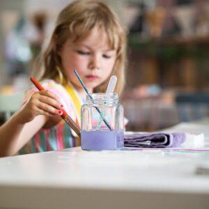 Toddler Art Play Group - Art Parties - Tribe Art Studio