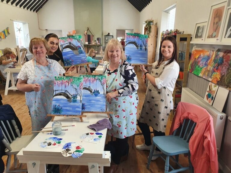 Coffee & Canvas Art Class Kildare - Tribe Art Studio
