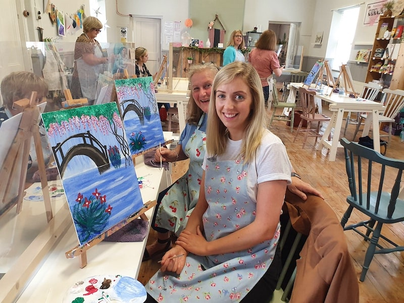 Coffee & Canvas Art Class Kildare - Tribe Art Studio