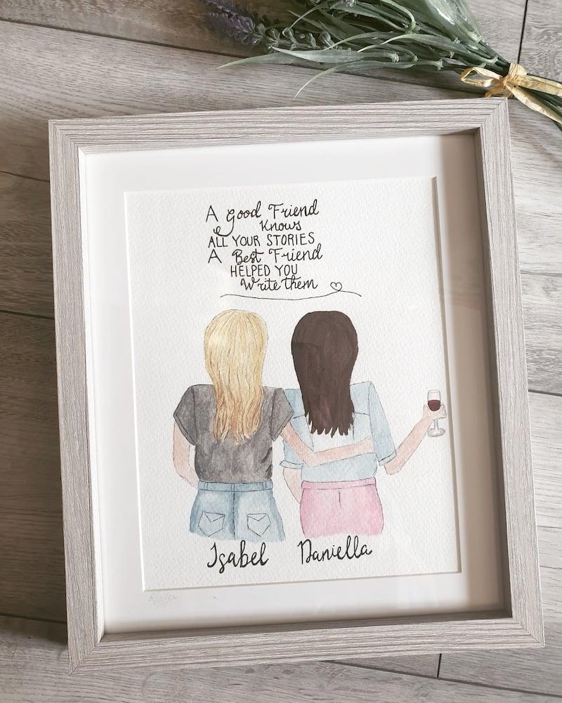 Friends Art Piece
