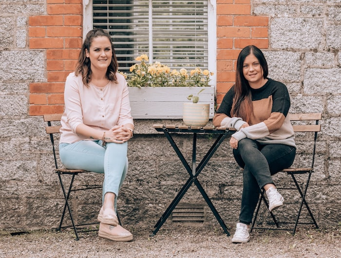 Rose and Kelly - Tribe Art Studio